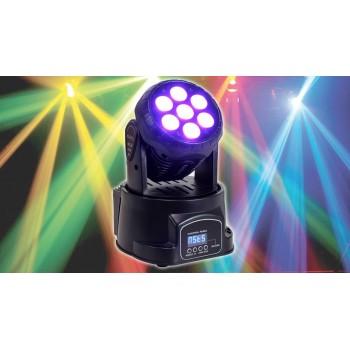 Le produit électronique 70W RGBW 7-LED Beam Moving Head Light DMX Stage Light DJ Party Lights au casablanca maroc .
