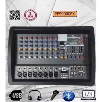 Le produit électronique PFS-9000FX BLEUTOOTH 8-Channel Professional Audio Mixer Amplifier au casablanca maroc .