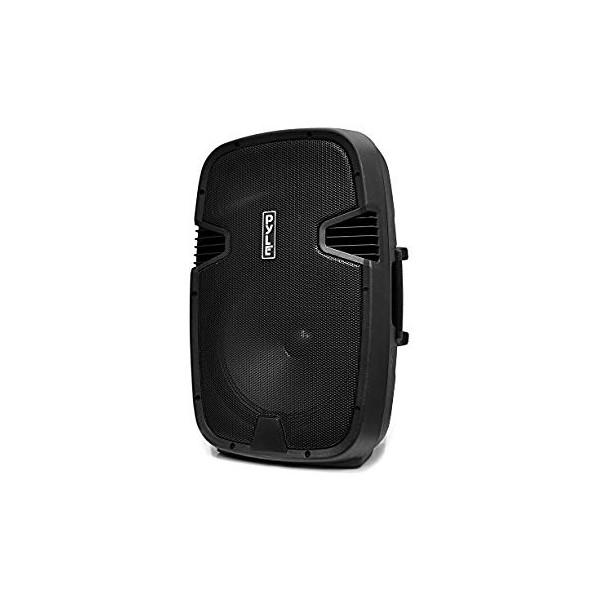 """Le produit électronique BLEUTOOTH 15""""speaker box amplifié avec 2  micro sans fills PP2515AUS au casablanca maroc ."""