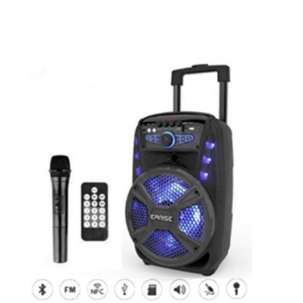 """Le produit électronique BLEUTOOTH 12""""speaker box amplifié avec 2  micro sans fills V-16 au casablanca maroc ."""