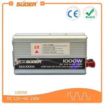 SAA-1000A SOLAR POWER CONVERTER AC/DC 12V/220V 1000watts