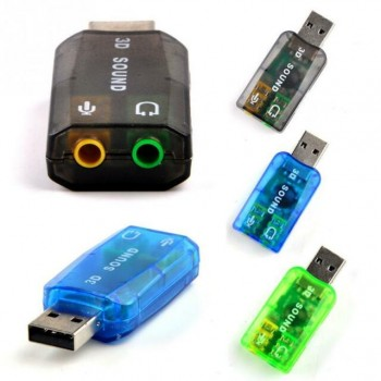 3D sound card USB addapter