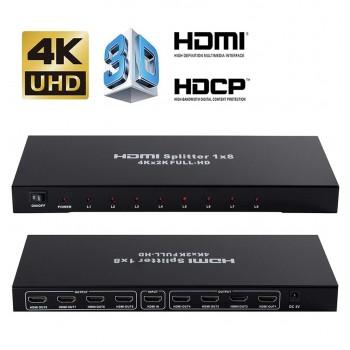 4K HDMI Spliter 1x8