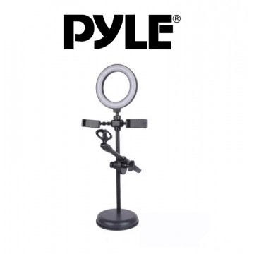 PYLE 16 cm Ring Light With...