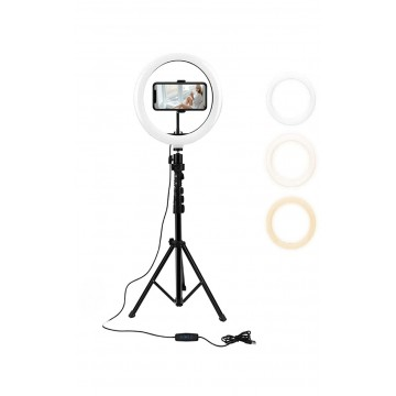 PYLE 26 cm Ring Light With...