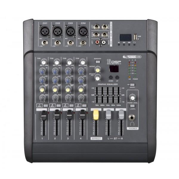 Le produit électronique MX402D  4-Channel Professional Audio Mixer amplifier-USB au casablanca maroc .