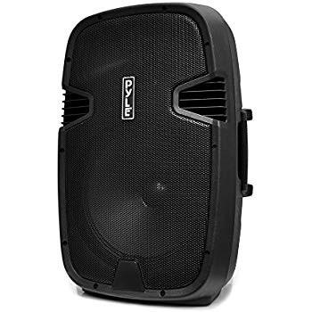 """Le produit électronique BLEUTOOTH 10""""speaker box amplifié avec 2  micro sans fills PP2510AUS au casablanca maroc ."""
