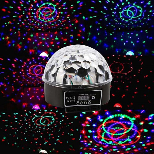 18W LED Crystal Magic Ball Stage Light